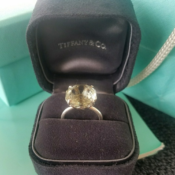 e9abefd8a Tiffany & Co Sparklers Green Quartz Cocktail Ring.  M_5a5511566bf5a6711905b243